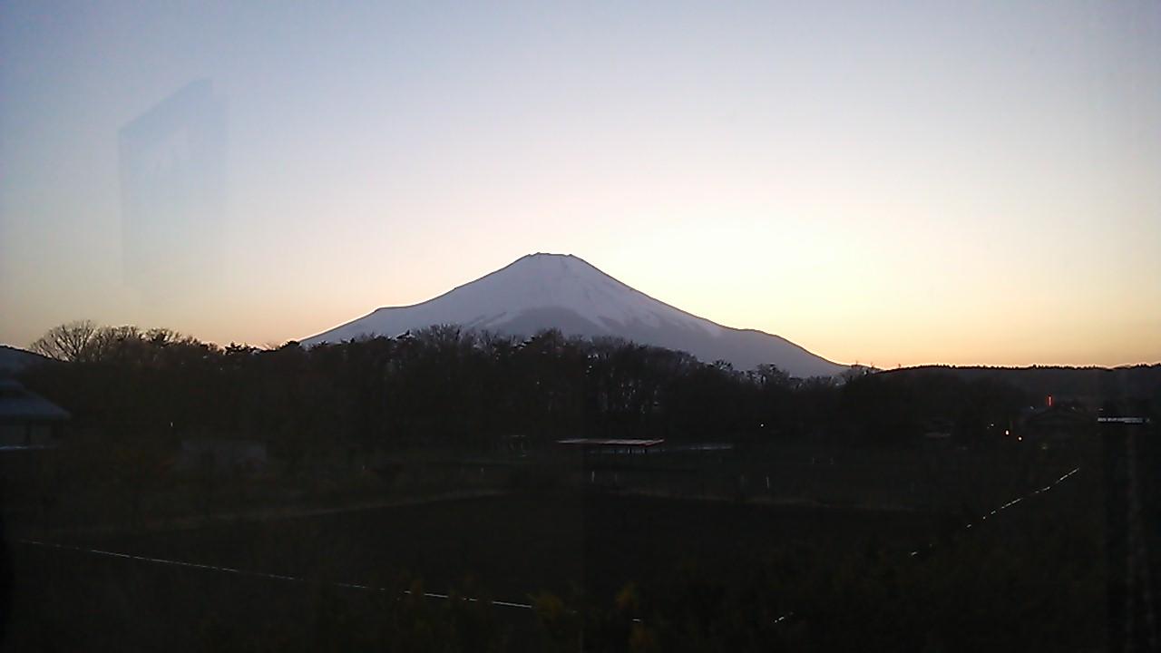 初富士山っ!